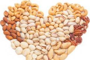 Các loại hạt dinh dưỡng tốt cho tim mạch